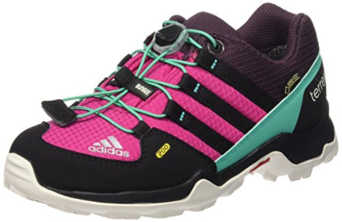 adidas Terrex Gtx K, Zapatillas de Deporte Unisex Infantil Rosa / Negro (Rosfue / Negbas / Menimp)