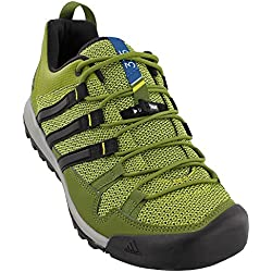 Adidas Sport Performance Men's Terrex Solo Hiking Sneakers, Green Textile, Rubber, 8 M