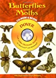 Butterflies and Moths CD-ROM and Book (Dover Electronic Clip Art)