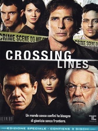 amazon com crossing lines season 01 3 dvd box set dvd italian