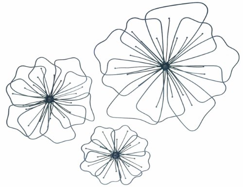 Cheap  Gardman 8422 Poppy Wall Art, Three Pieces: Large 17