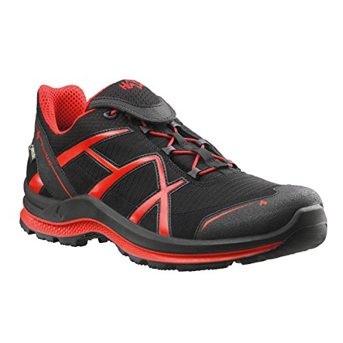HAIX Black Eagle Adventure 2.0 Low Gore-Tex blanco / rojo