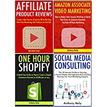 Freedom Lifestyle Business Ideas:  4 Internet Marketing Business Ideas for New Entrepreneurs and Those Who Want to Quit Their Job. Affiliate, Amazon Associates, Shopify & Social Media Consulting