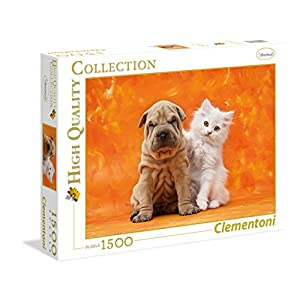 Clementoni 31634 Puzzle Collezione Alta Qualit So Cute Puzzle 1500 Pezzi