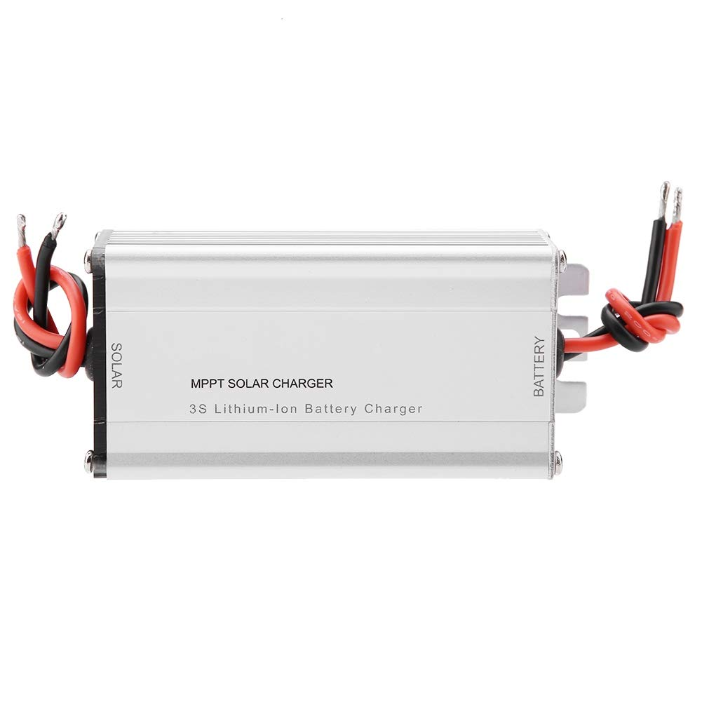 Akozon 10A MPPT Solar Panel Controller Charging Module 18V 3S/4S LiFePO4 Lithium Battery Charging Board(4S LiFePO4 Battery)