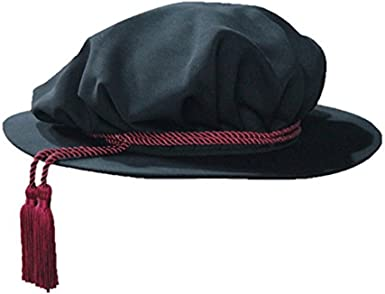 GraduationMall Unisex Doctoral Academic Beefeater Black