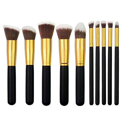 qihui-10pcs-makeup-brushes-premium-makeup-brush-set-synthetic-kabuki-cosmetics-foundation-blending-b