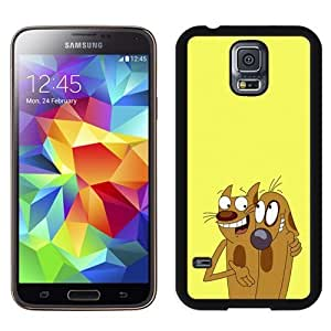 Galaxy S5 Phone cases, Catdog Face Animal Cartoon Black Samsung Galaxy S5 I9600 G900a G900v G900p G900t G900w cell phone case