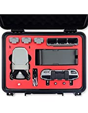 2021 VCUTECH Mini 2 Waterproof Hard Carrying Case Compatible with DJI Mini 2 Drone/Fly More Combo & Drone Accessories, Mavic Mini 2 Accessories, Anti-Crash with Full Protection (Mini 2, Black)