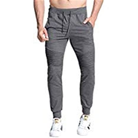 Jxth-mbot Pantalones de chándal Jogger para Hombre Pantalón de ...