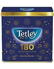 Tetley Limited Edition 180th Anniversary Tea Tin (Tin Only), Commemorative Tin Celebrates Tetley's 180 Years of Tea Expertise, Gift for The Tetley Tea Lover.