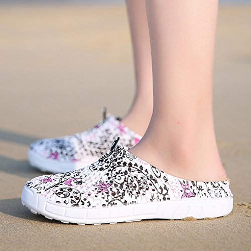 Beach Garden Footwear Slip Comfort 161 Quick Shoes Sandals Lightweight 7Grey Clogs Anti Walking Womens Mesh Drying 1qd7wRR