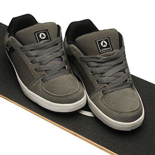 Brock Juniors Airwalk De Chaussures Charbon Baskets Skate P114SHg