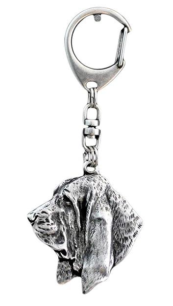 Basset hound, llavero del perro, ArtDog: Amazon.es: Joyería