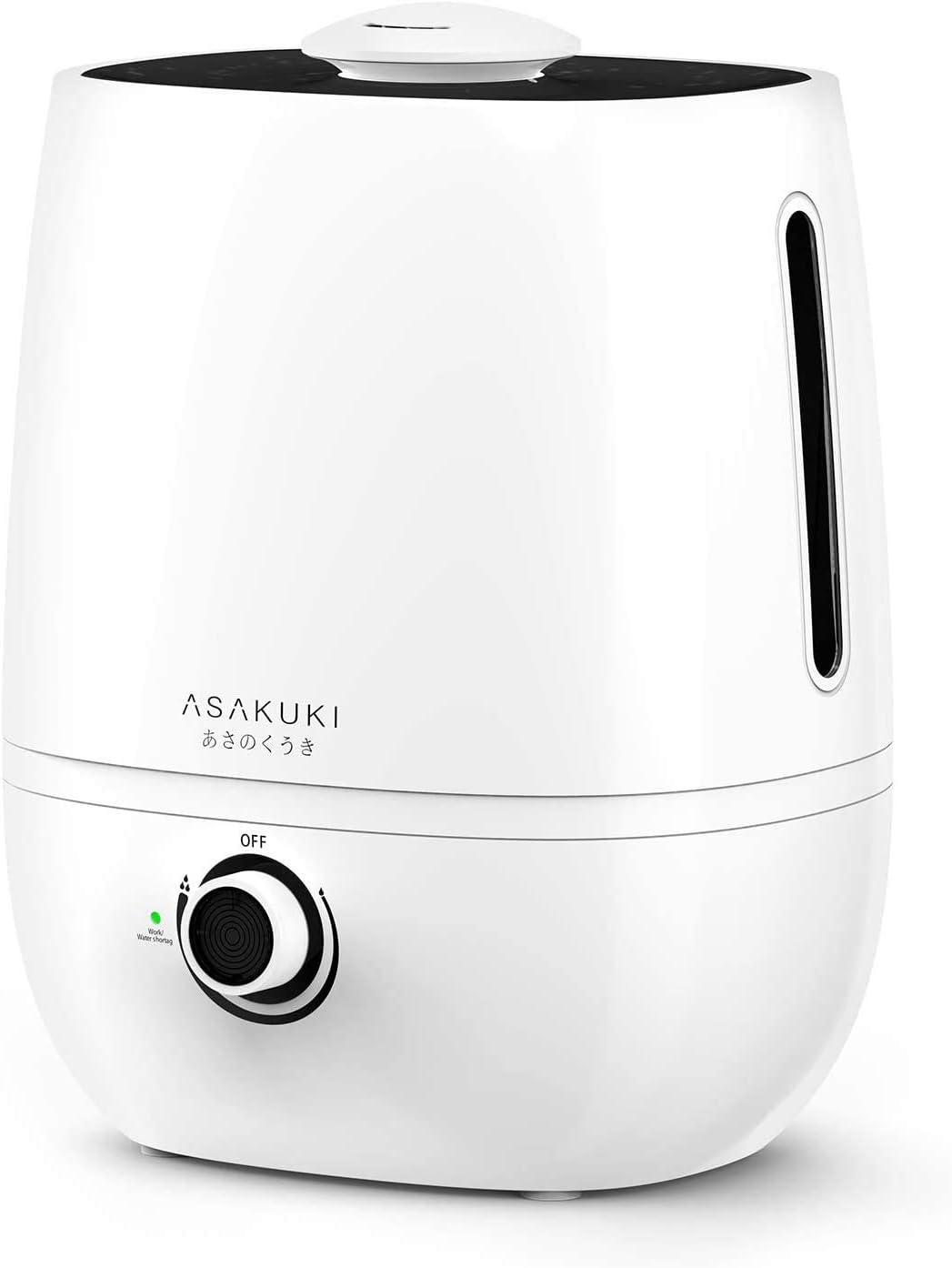 Lowest price challenge ASAKUKI Cool Max 58% OFF Mist Humidifier Large 4L Ultrasonic Capacity Diffu