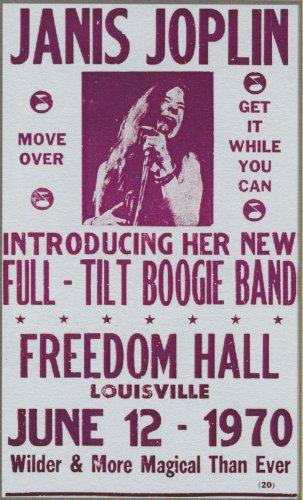 janis joplin concert posters