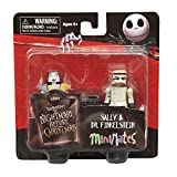 The Nightmare Before Christmas Minimates Sally and Dr. Finkelstein