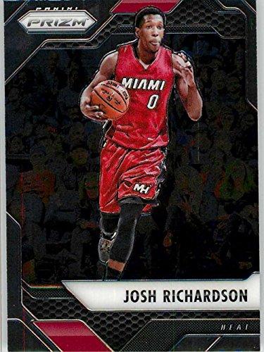 2016-17 Panini Prizm Basketball #83 Josh Richardson Miami Heat Official NBA Trading Card