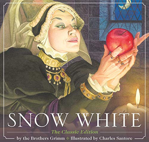 Snow White por Charles Santore