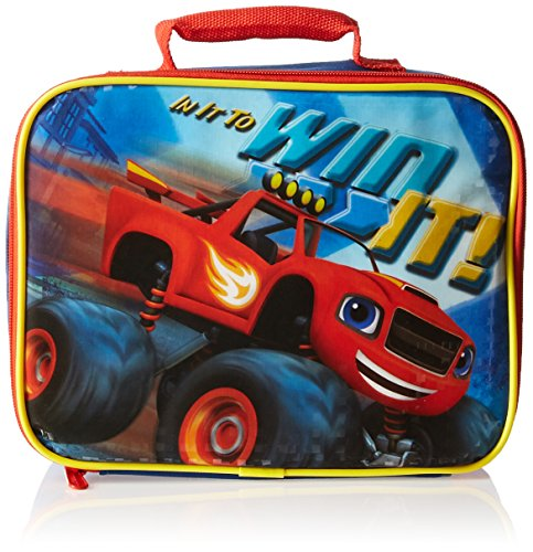 Nickelodeon MJ28006-SC-BL Blaze and the Monster Trucks Lunch Kit Insulated, Blue