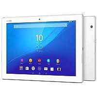 Sony Xperia Z4 Tablet - 10.1 Inch, 32GB, Wifi, 4G LTE (White)