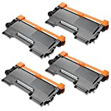 JARBO Compatible for Brother TN450 TN-450 Toner Cartridges High Yield, 4 Black, Use with Brother HL-2270DW HL-2280DW HL-2230 HL-2240 HL-2240D Brother MFC-7860DW MFC-7360N Brother DCP-7065DN Printer