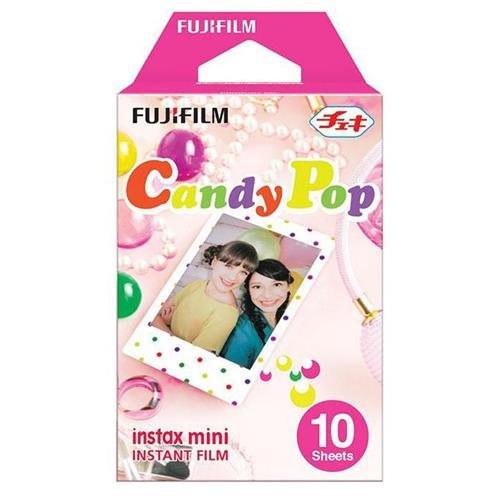 - Fujifilm Instax Mini Candy Pop Instant Film (10 Color Prints) [International Version]