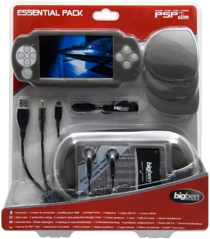 Bigben Mega Pack PSP Slim & Lite - cajas de video juegos y accesorios (340 mm, 240 mm, 287 mm): Amazon.es: Videojuegos