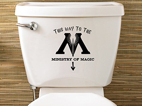 WC Sticker Harry Potter Ministry of Magic