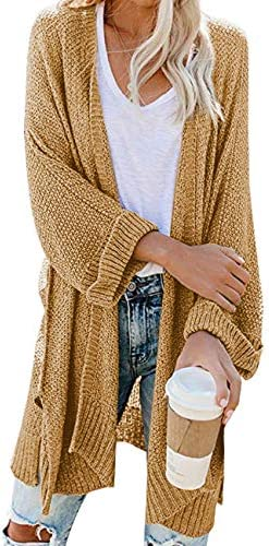 CPOKRTWSO Womens Cardigans Sweater Pockets product image