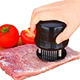 Meat Tenderizer, 56 Ultra Sharp Stainless Steel Needle Blade Tenderizer for Steak, Beef, Durable Baking Kitchen Accessories