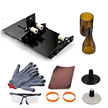 AceList® Glass Bottle Cutter Scoring Machine Cutting Tool Wine Bottle Cutter with Extra Cutting Wheel Included