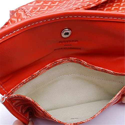 Agote Women Fashion Shipping Shoulder Tote Bag Set (ORANGE.) by Agote (Image #2)