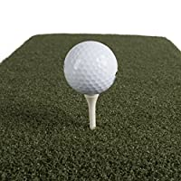 Real Feel Golf Mats Country Club Elite 4' X 4' Heavy Duty Indoor Outdoor Use