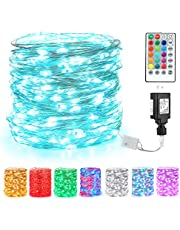 BrizLabs Color Changing Fairy Lights, RGB Color Changing String Lights…
