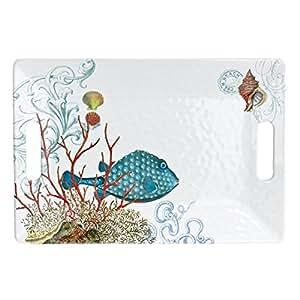 Michel Design Works Sea Life Medium Rectangular Tray