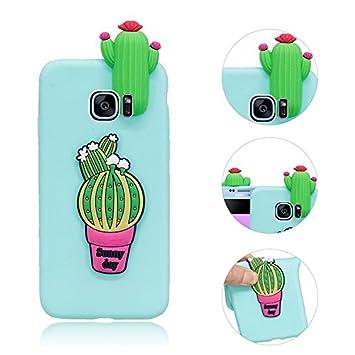 Galaxy S7 Edge Funda Samsung Galaxy S7 Edge Fundas Cactus ...