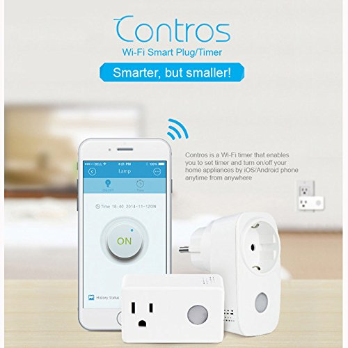 BroadLink SP3 SPcc Contros Mini WiFi Smart Home Socket Timing Switch Plug Timer ( US plug )