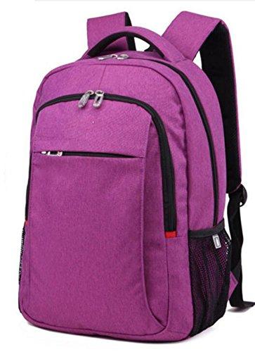 Estudiante Masculino Deporte Sra Bolso Casual 16 Pulgadas,16-inch-Purple