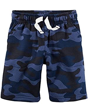 Carter's Baby Boys Camouflage Shorts - Navy