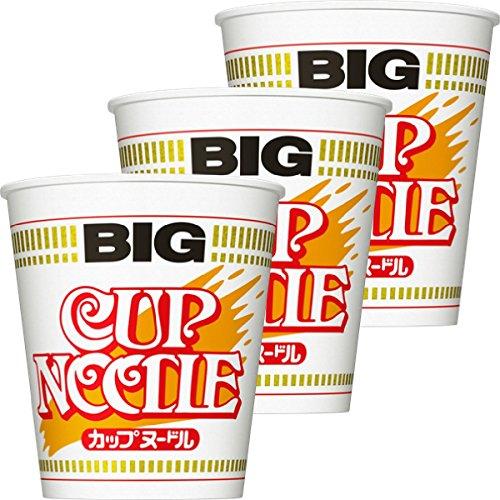 닛신식품 컵 누들 Big 100g×3개