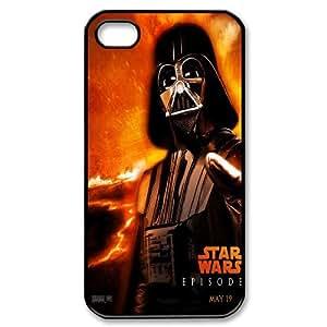 Star Wars Boba Fett Black PC Case Skin For Iphone 4 4S case cover GHLR-T409530
