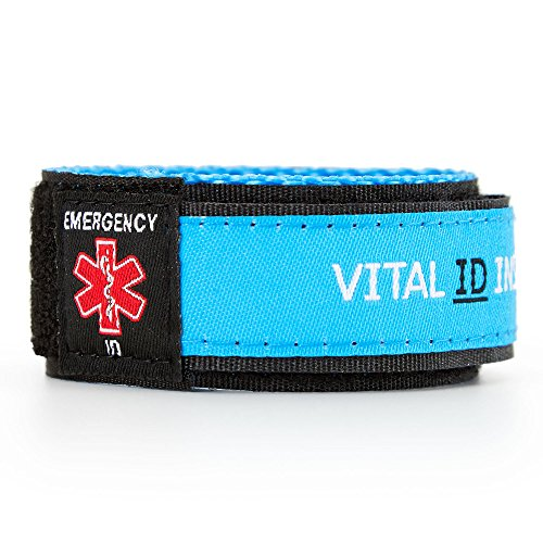 QRepublik Med ID Medical Alert Bracelet – Smartphone/Tablet Access to Electronic Medical Records Health ID Emergency Bracelet with Your Name, Address for Men, Women, Kids (Med Bracelet Id)