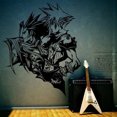 Wall Decor Vinyl Sticker Room Decal People Heroes Anime Manga Comics Japan Animation Cartoon (S38)