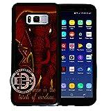 (Galaxy s8) EGOCENTRIC DESIGN & CO. Delta Sigma Theta Sorority TPU Rubber Silicone Phone Case