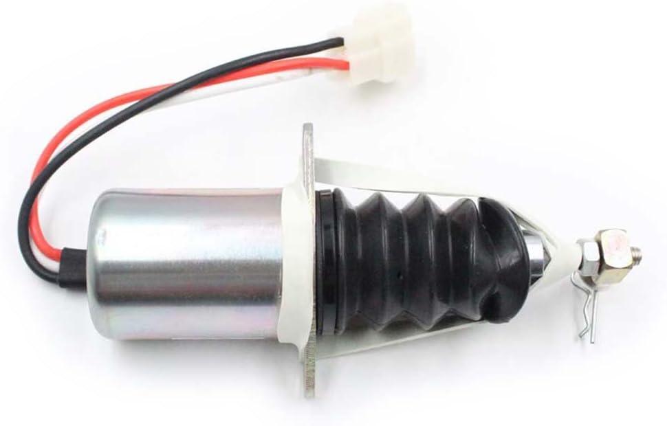 Fuel Shut Off Solenoid AM882277 for John Deere 670 770 870 970 1070 Compact Utility Tractor