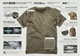 TSLA Men's Rashguard Swim Shirts, UPF 50+ Loose-Fit