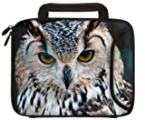 Designer Sleeves iPad Case with Handles (iPad-OWL), Bags Central