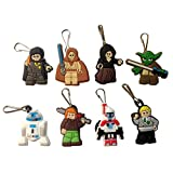 Lego Movie Snap Hook Zipper Pulls 8 Pcs Set #5