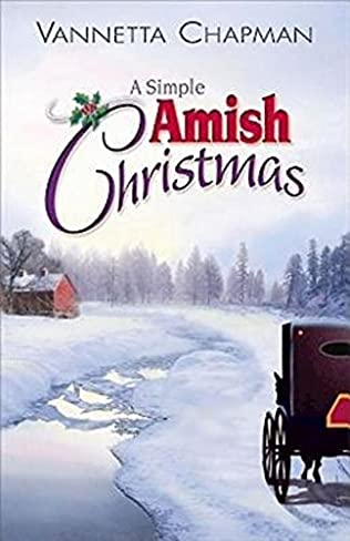 book cover of A Simple Amish Christmas